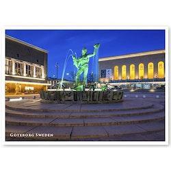 Vykort: Göteborg, Poseidon, 148 x 105 mm