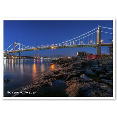 Vykort: Göteborg, Älvsborgsbron, 148 x 105 mm