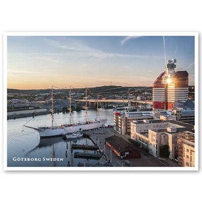 Vykort: Göteborg, Lilla Bommen, 148 x 105 mm