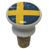 Vinkork: Sverigeflaggan