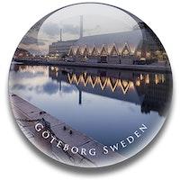 Magnet Göteborg, Feskekyrka 3,5 cm