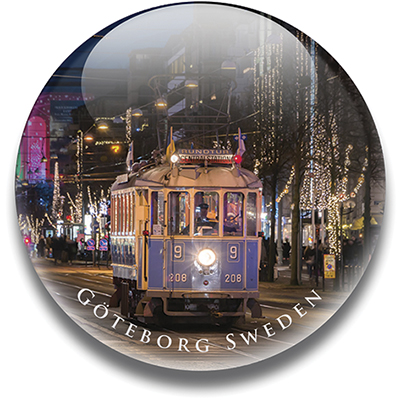 Magnet Göteborg, spårvagn 5 cm