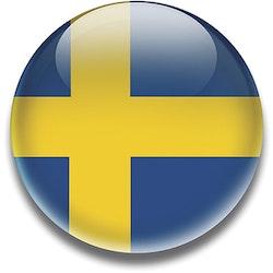 Magnet Sverigeflaggan 5 cm