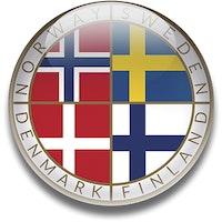 Magnet Scandinavia 5 cm