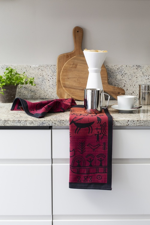 Österled handduk 35X50, 3 olika färger, 100% Ekologisk Bomull