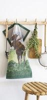 Moose handduk 35X50, 100% Ekologisk Bomull