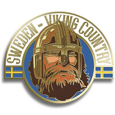 Magnet Viking i metall