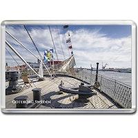 Magnet Göteborg/skeppsvy, acrylplast