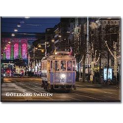 Magnet Göteborg/Avenyn/spårvagn, acrylplast