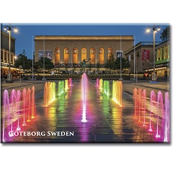 Magnet Göteborg/Götaplatsen, metall