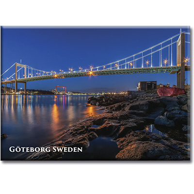 Magnet Göteborg/Älvsborgsbron, metall