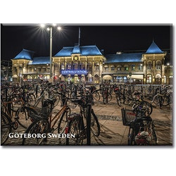 Magnet Göteborg/Centralstation, metall