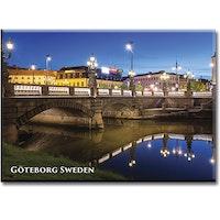 Magnet Göteborg/Kungsportsbron, metall