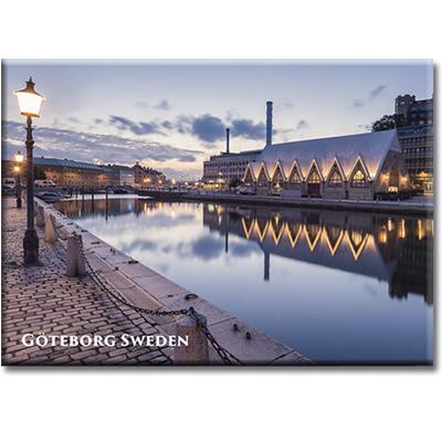 Magnet Göteborg/Feskekyrka, metall