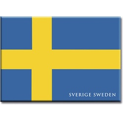 Magnet Sverigeflaggan, metall