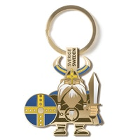 Nyckelring i metall: Viking
