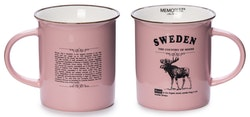 Mugg- Memoriz, Moose Classic, Large, With Story, Pink