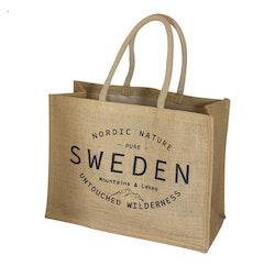 Kasse Jute Sweden backcountry (Tygkasse)