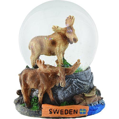 VATTENGLOB ÄLG STÅENDE SWEDEN (65MM)