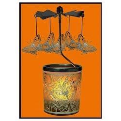 ÄNGLASPEL: Ljuslykta Karusell, Fjärilar