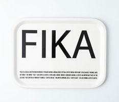 FRUKOSTBRICKA FIKA VIT