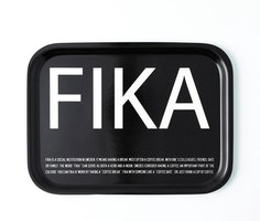 FRUKOSTBRICKA FIKA SVART