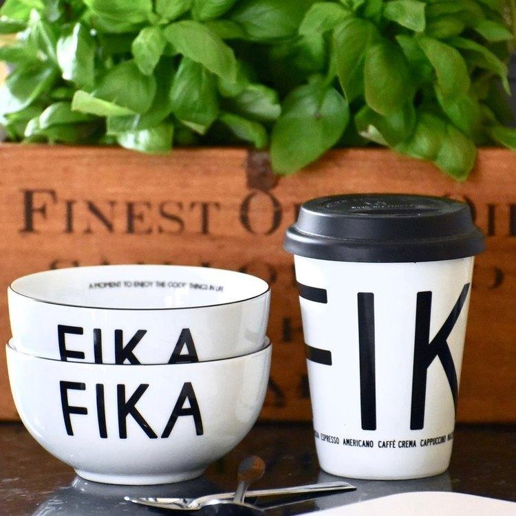 "FIKA MUGG ""TO GO"" VIT"