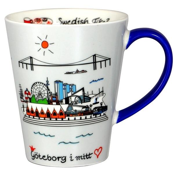 Mugg Göteborg i mitt hjärta