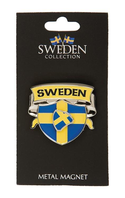 Magnet spinner sköld, Sverige