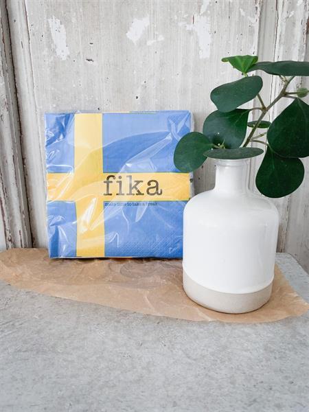 Servetter, Swedish flag, Fika
