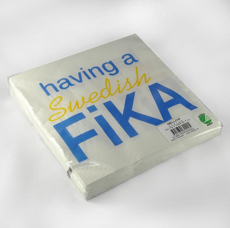 Lunchservett, Swedish Fika