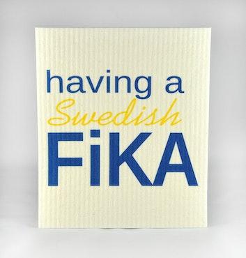 paños de cocina, sueco Fika