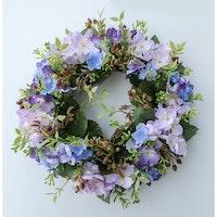 Blomkrans Hortensia & Lavendel Stor