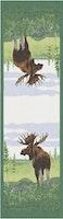 Moose bordslöpare 35X120, 100% Ekologisk Bomull