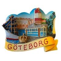 Magnet Göteborg med Krona