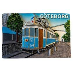 Magnet Göteborg spårvagn