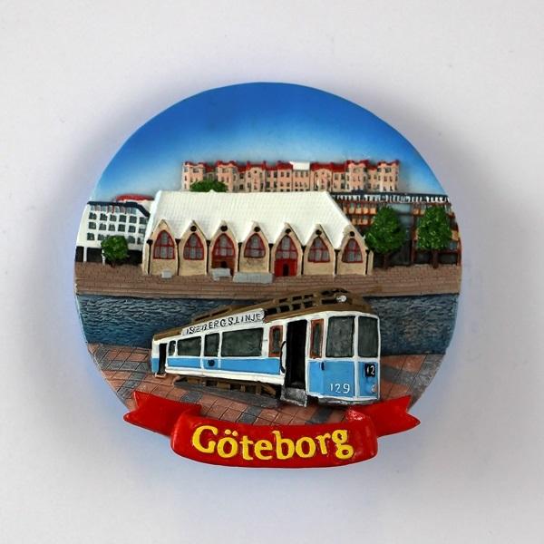 Magnet Göteborg Fiskekörka/spårvagn