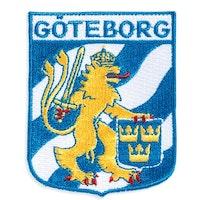 Broderat tygmärke Märke Göteborg