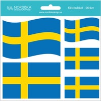 Dekalark Svenska flaggan 16 x 16