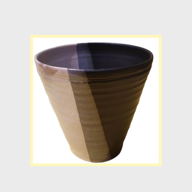 Svensk keramik mugg utan handtag