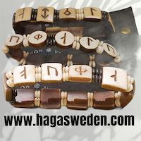 Armband 'Viking Symbol' Handmade from Bone