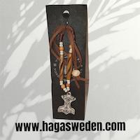 Halsband 'Thor's Hammer' Handmade from Bone