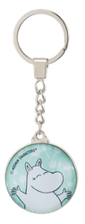 Nyckelring: Moomin  Glad, Grön