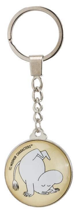Nyckelring: Moomin  Glad, Gul
