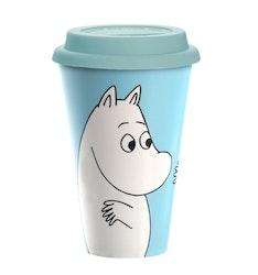 Mugg Take Away: Moomintroll, biologiskt nedbrytbar