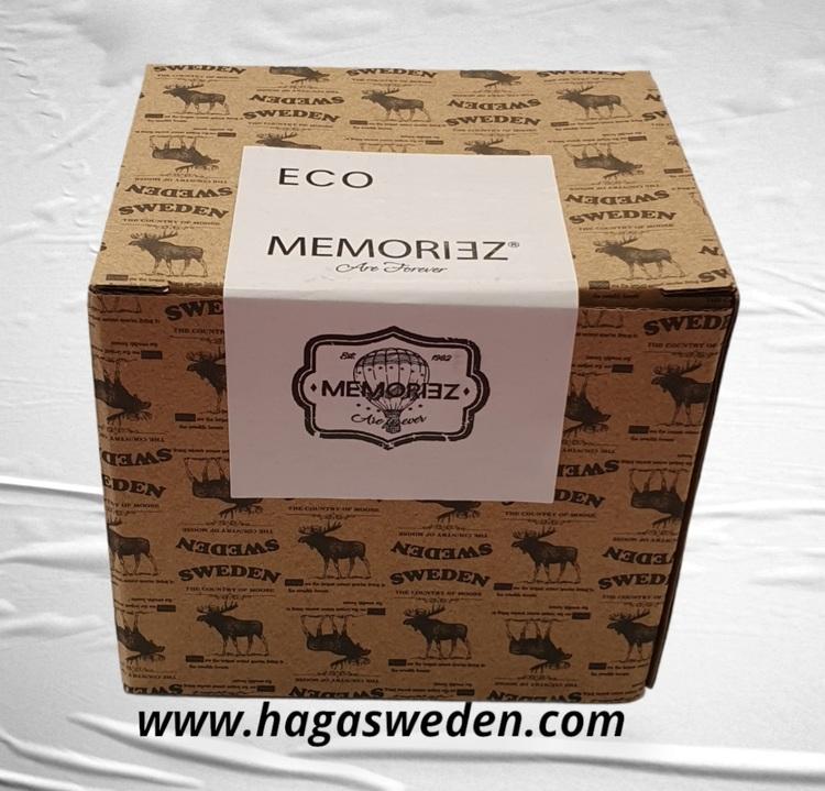 Mugg- Memoriz, Moose Classic, Large, With Story, White