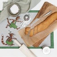 Findus bordstabletter 35X48 100% Ekologisk Bomull