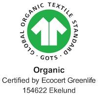 Träslöjd handdukar 40X60, 100% Ekologisk Bomull