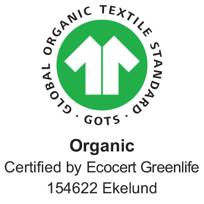 Summerday handduk 35X50, 100% Ekologisk Bomull