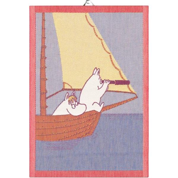 Sailing handduk 35X50, 100% Ekologisk Bomull